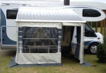 Hobby Siesta 600 rental offer- Omnistor tent for longer   traveling