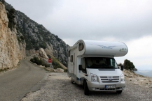 The way La Palud D23  23km long it is possible with camper